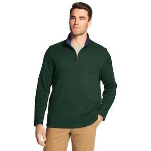 Classic fit Quarter Zip Pull over Sweater